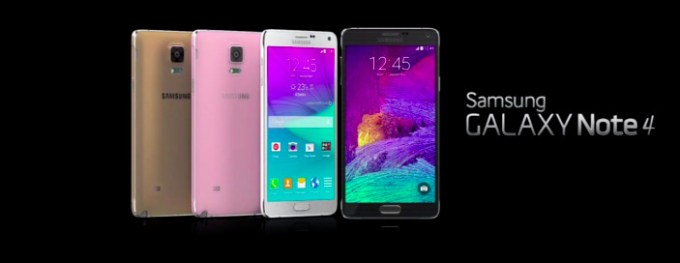 Samsung Galaxy Note 4 - kolory