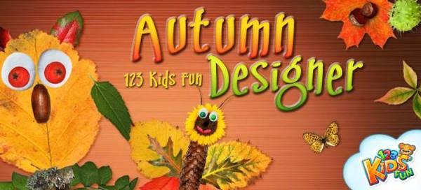 123 Kids Fun Autumn Designer – kreatywna aplikacja dla dzieci
