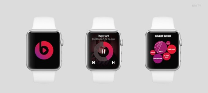 Beats na Apple Watch