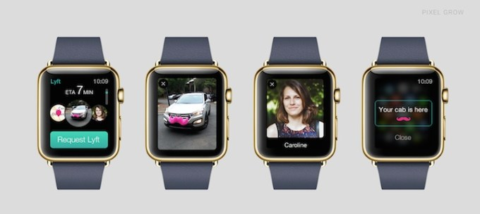 Lyft na Apple Watch