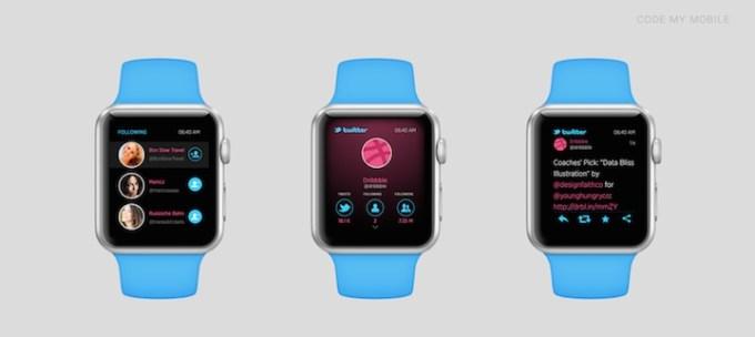 Twitter na Apple Watch