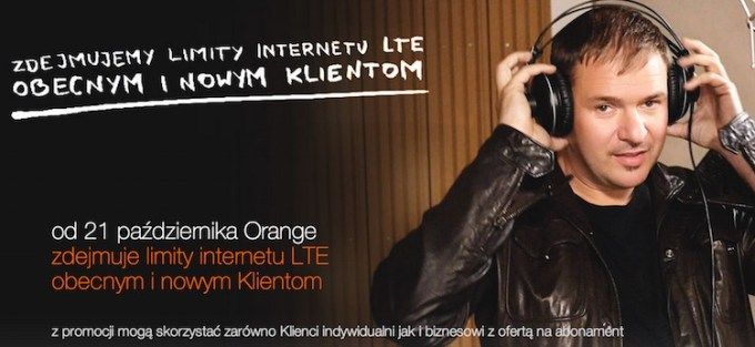 Orange LTE bez limitu do 31 marca 2015