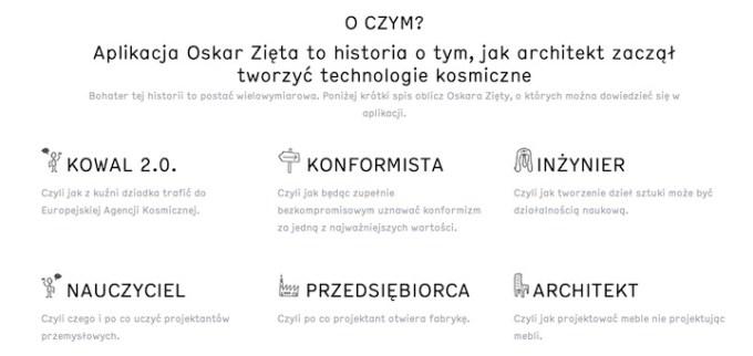 Aplikacja mobilna: Oskar Zięta