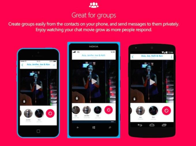 Aplikacja mobilna Skype Qik
