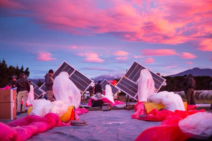 Project Loon - balony z internetem bezprzewodowym