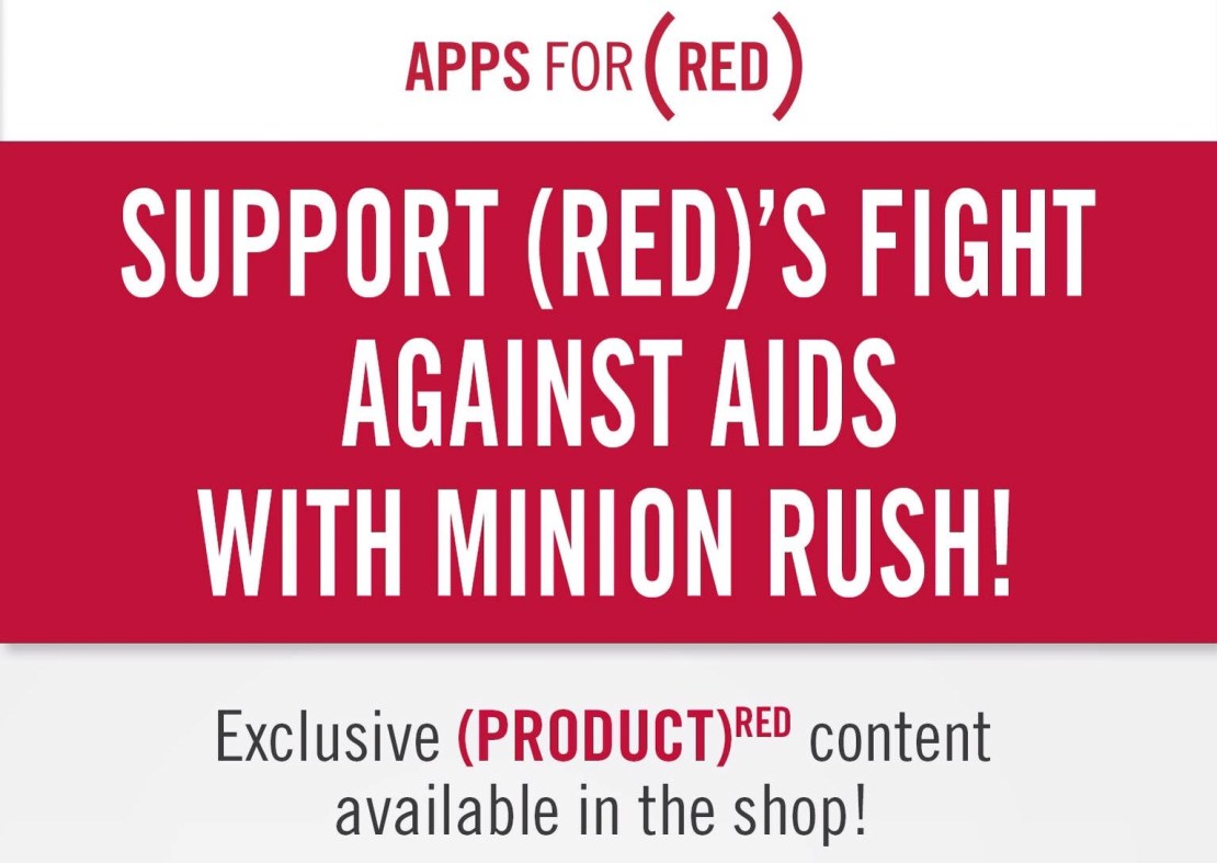 (RED) App Store