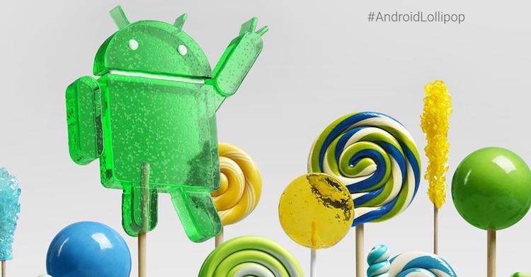 Android Lollipop 5.0 OTA