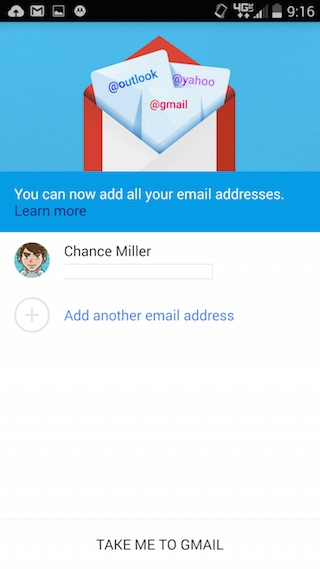 Gmail 5.0 - aplikacja