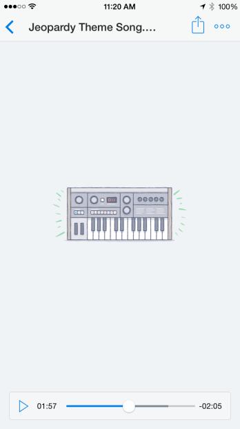 Muzyka w Dropboxie