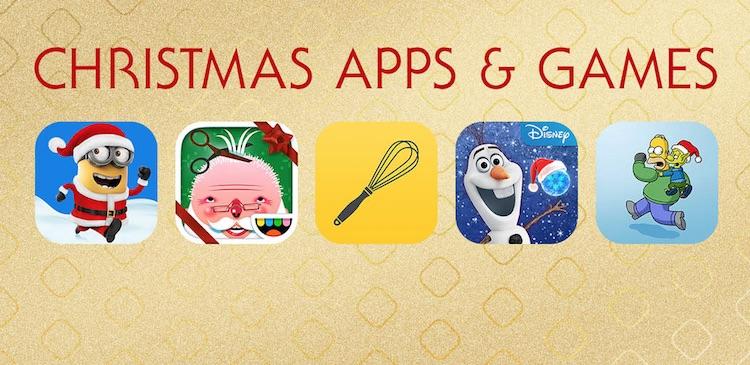 Świąteczne gry i aplikacje mobilne na iOS-a