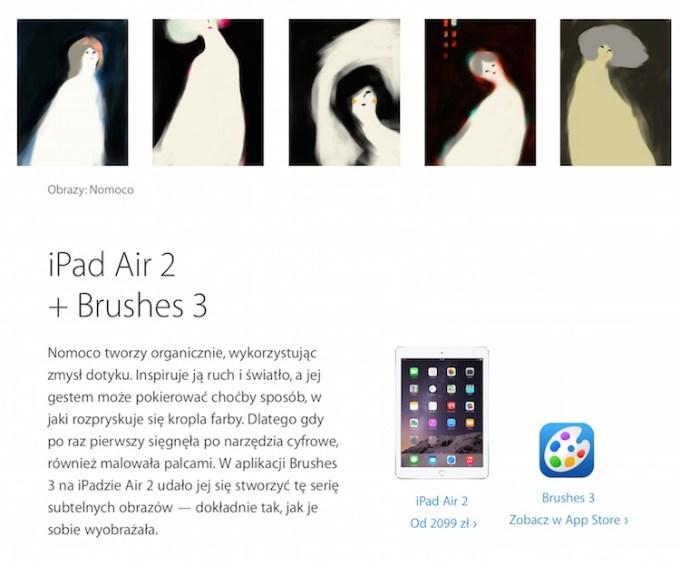 Nomoko - Zacznij tworzyć - Apple