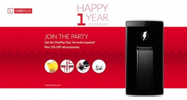 OnePlus świętuje już rok!