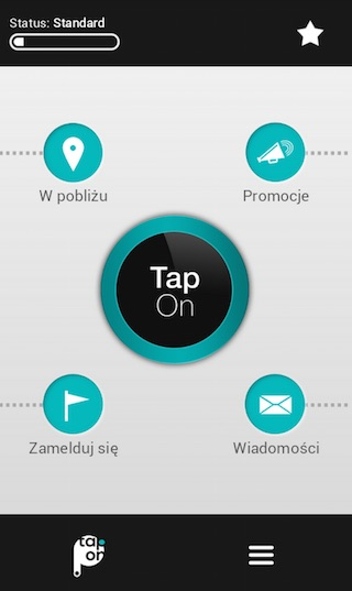 TapOn- screen aplikacji na Androida