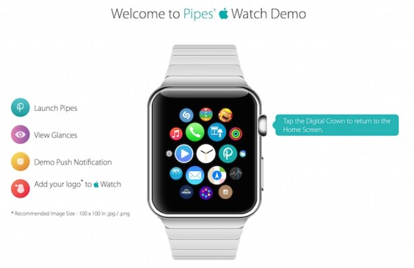 Demo działania zegarka Apple Watch