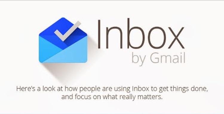 Inbox by Gmail - statystyki
