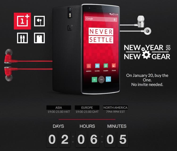 OnePlus One bez zaproszenia