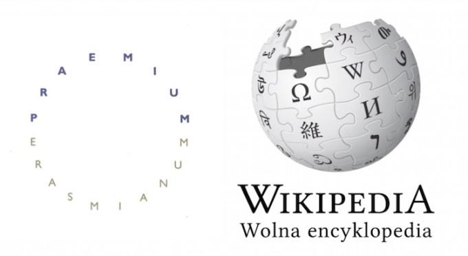 Wikipedia - Nagroda Erazma 2015