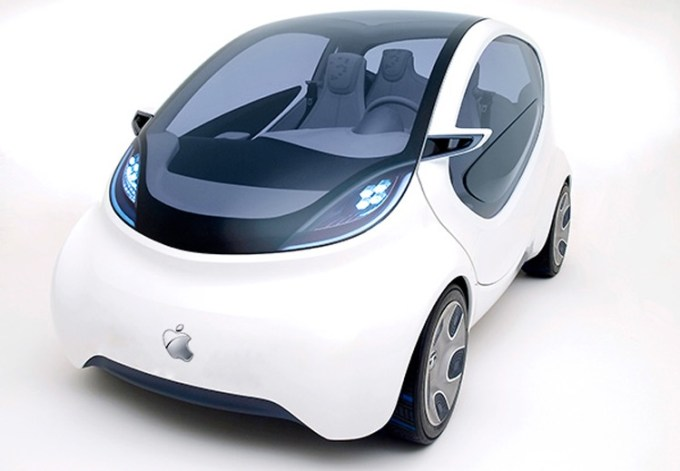 iCar - elektryczny samochód Apple'a - koncept