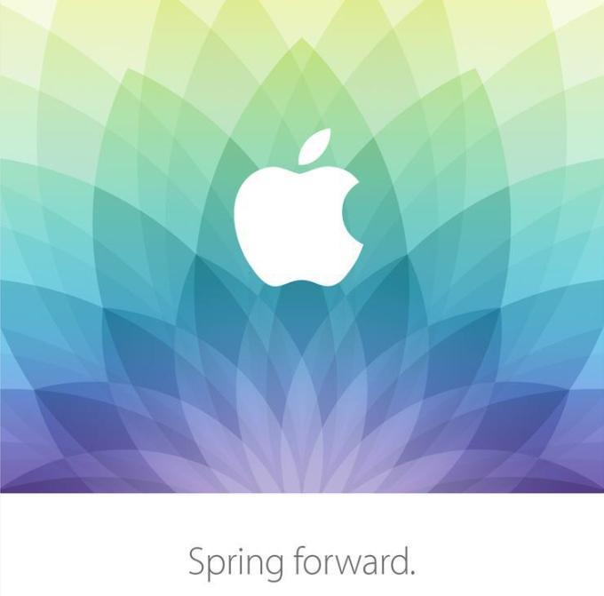Apple Spring Forward - 9 marca 2015 r.