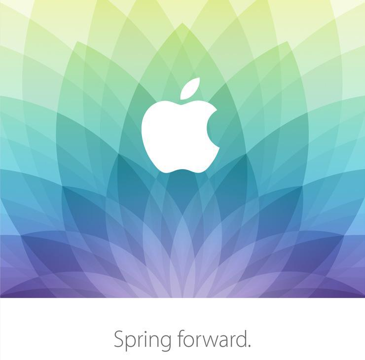 Apple Spring Forward - 9 marca 2015 r.