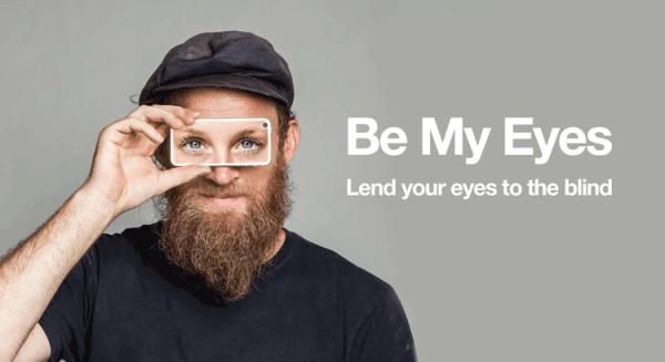 Be My Eyes – aplikacja pomagająca niewidomym