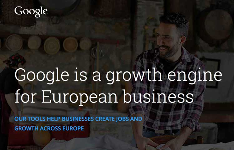 Google wspiera małe firmy