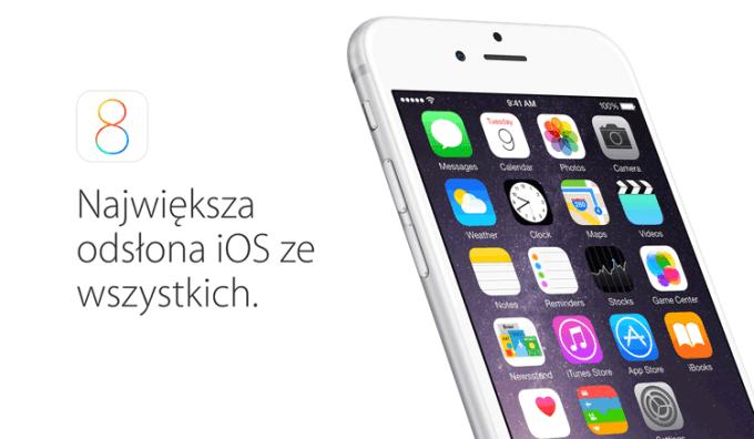 iOS 8.2 aktualizacja w poniedziałek