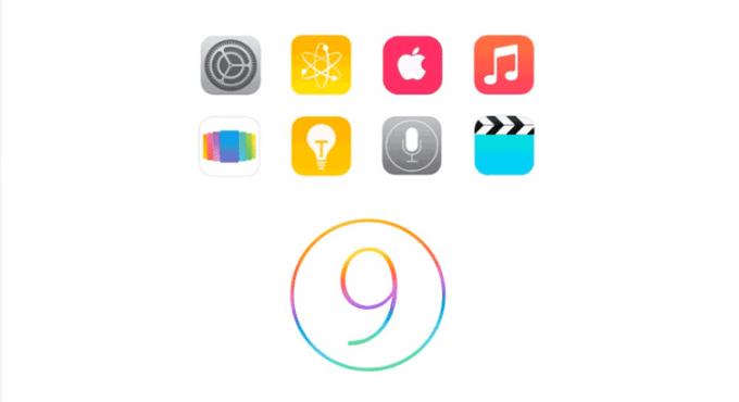 iOS 9 - koncept