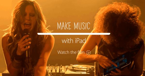 Apple pokazuje jak można w nowatorski sposób tworzyć muzykę