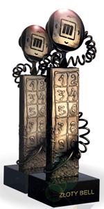 Statuetka Złoty Bell 2014