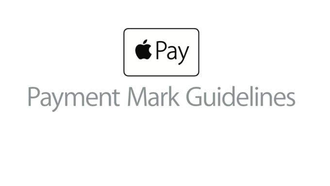 Apple Pay - payment mark guideline