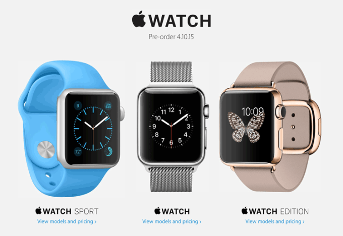 Apple Watch Pre-order 10.04.2015