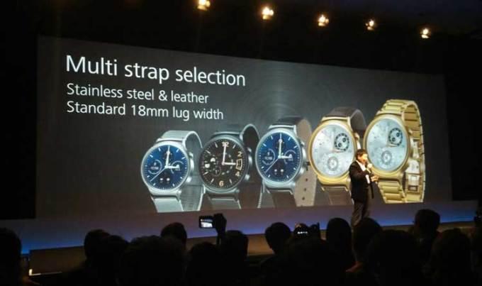 Huawei konferencja smartwatch