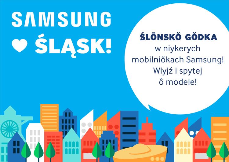 Język śląski w menu smartfonów Samsunga