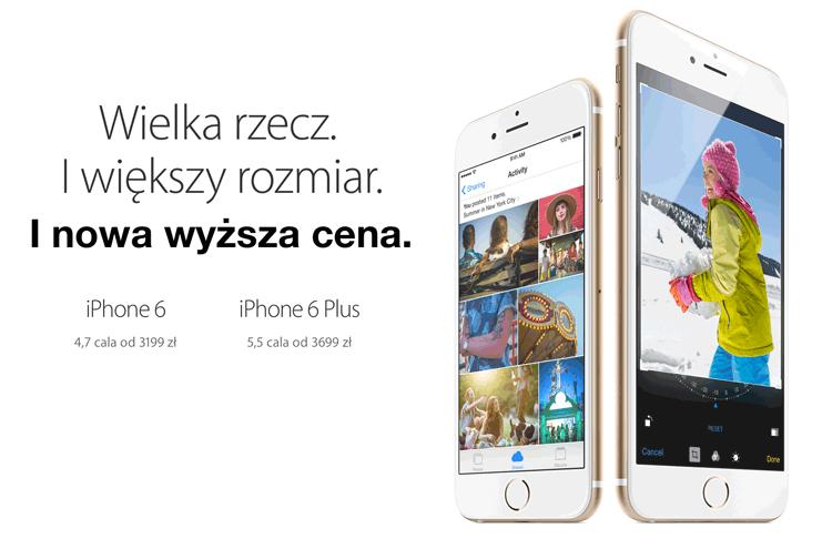 Apple podwyższyło ceny iPhone'ów