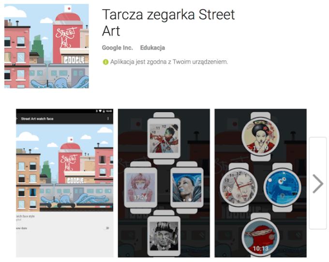 Tarcza Zegarka Street Art