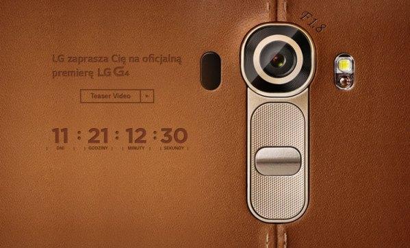 LG G4 – oficjalny teaser nowego smartfona LG