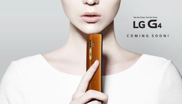 LG G4 z 5,5-calowym wyświetlaczem i Snapdragonem 808
