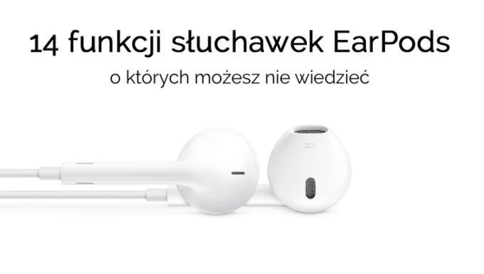 Funkcje słuchawek do iPhone'a EarPods