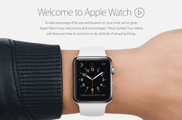 Apple Watch - Guided Tours
