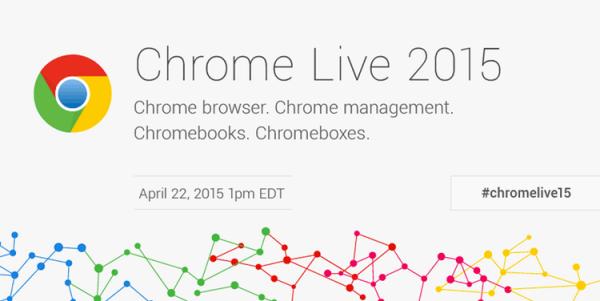 Chrome Live 2015 już 22 kwietnia!