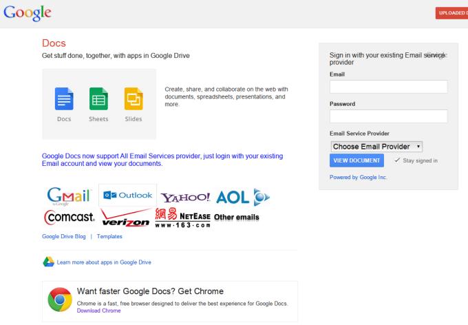 Fałszywa strona logowania do konta Google