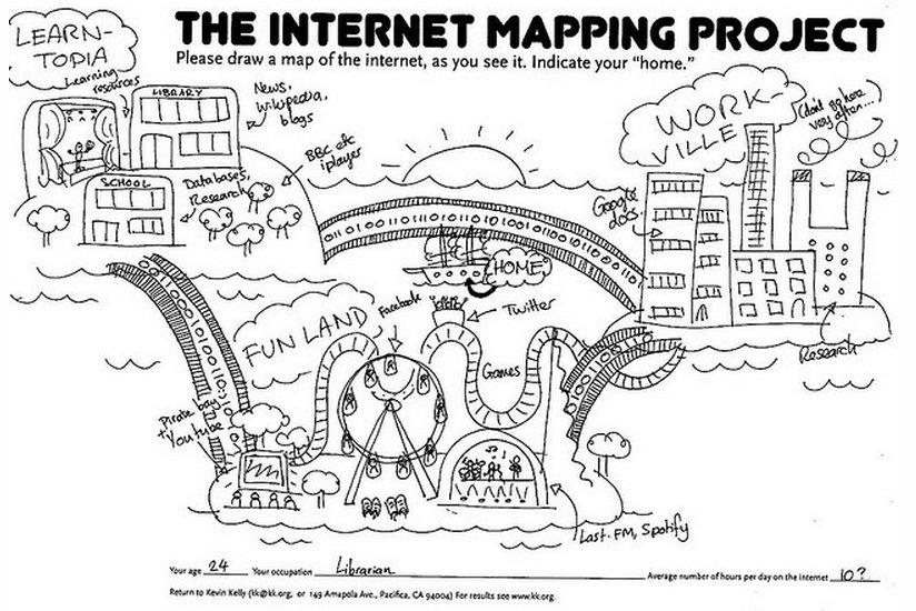 Internet Mapping Project (mapa 2)