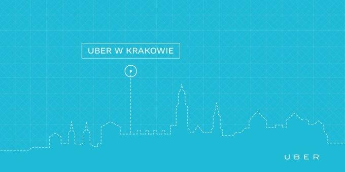 Uber w Krakowie
