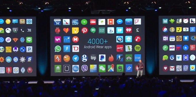 4000 aplikacji mobilnych na Androida Wear