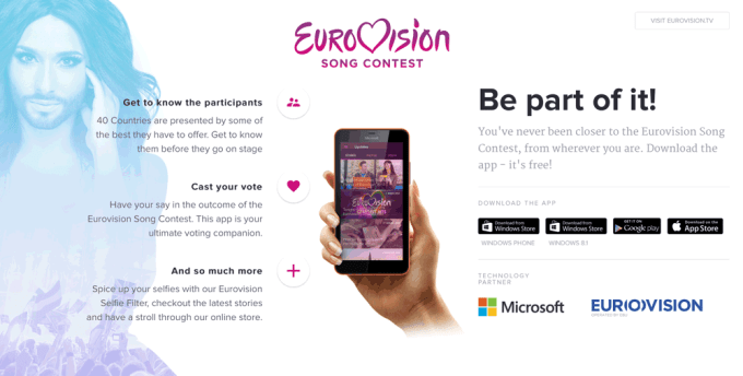 Eurovision Mobile App 2015