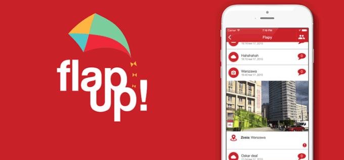 Aplikacja społecznościowa Flap Up!