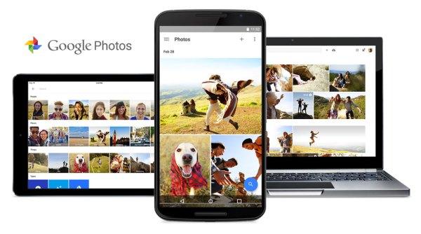 Google Photos z nielimitowanym miejscem na zdjęcia i wideo