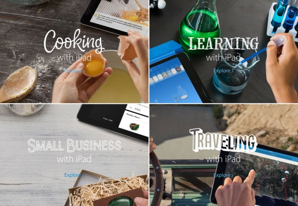 Nowa kampania reklamowa iPada