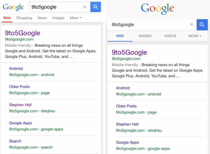 Nowy wygląd mobilnych wyników wyszukiwania Google